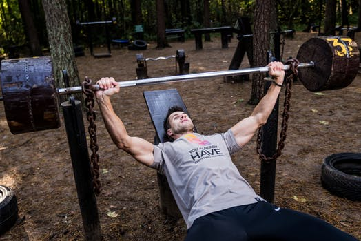 Bench Pressing and Muscle Building