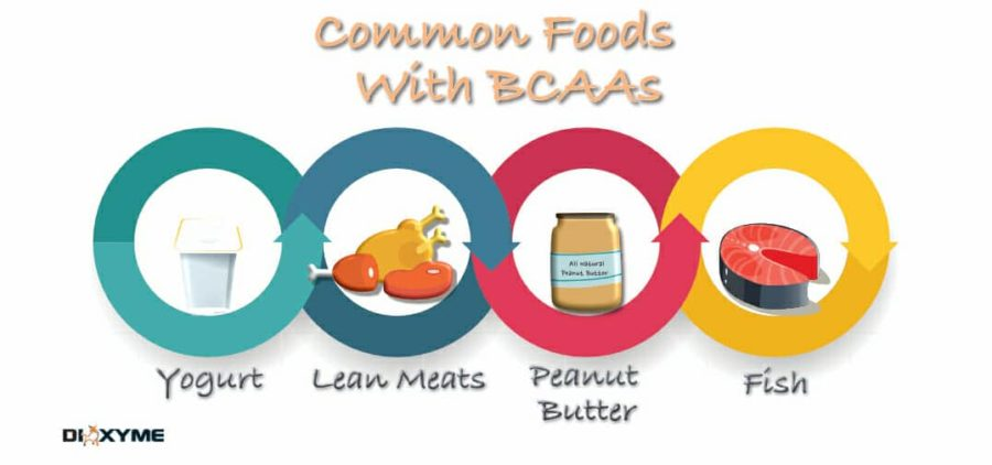 Common Foods with BCAA's