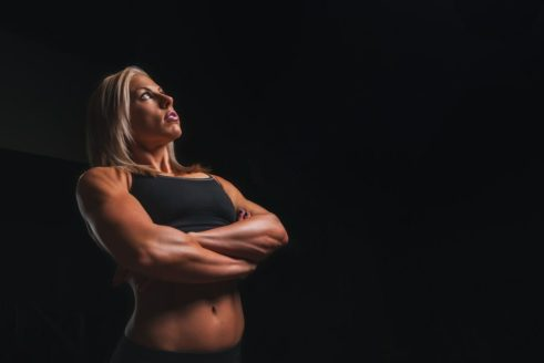 building muscle after 40 female