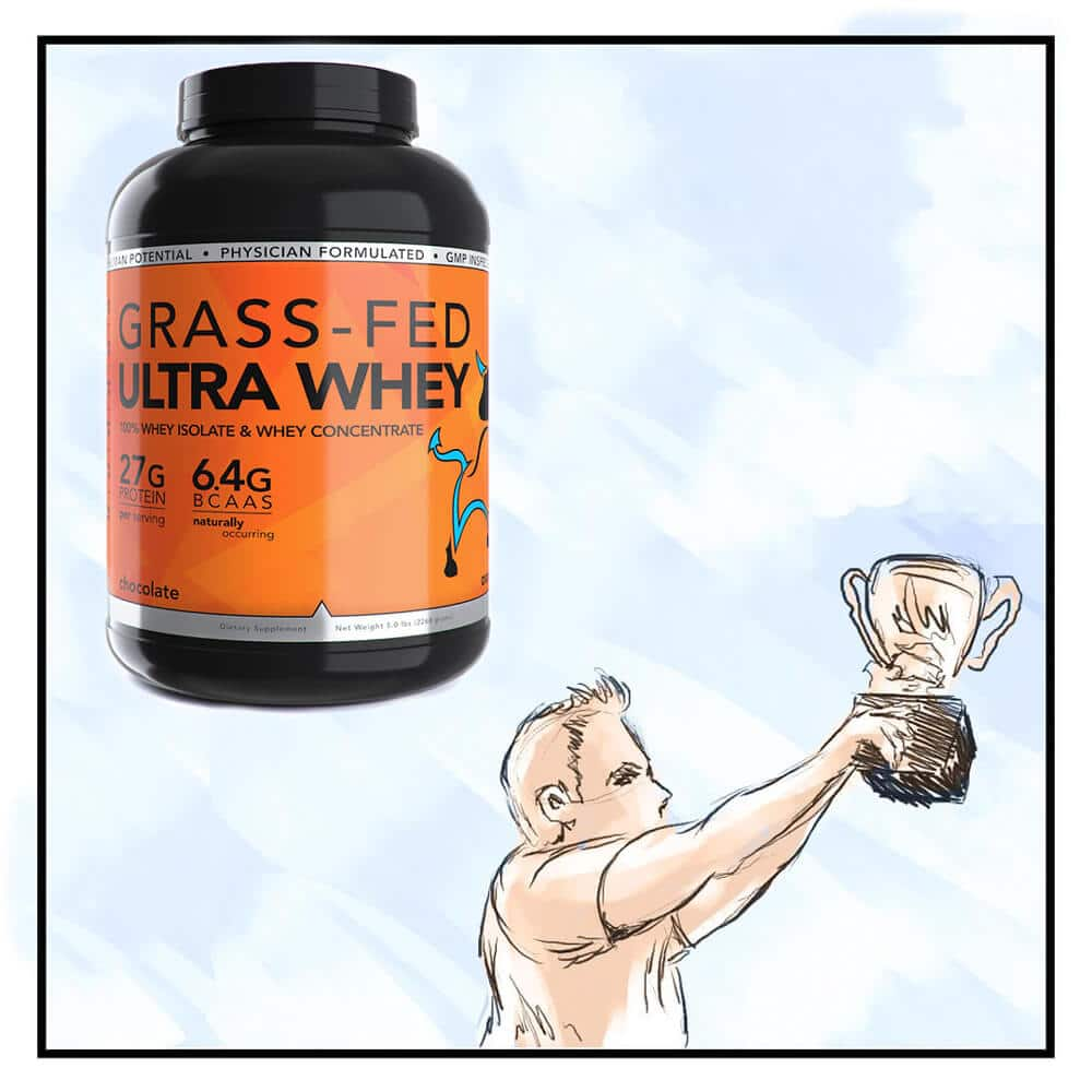 Grass-Fed Ultra Whey for Weight Loss